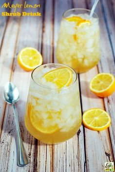 Looking for a vinegar shrub recipe? Try this lemon shrub recipe. Makes a great lemon shrub drink cocktail or mocktail. Beer Cocktail Recipes, Cocktail And Mocktail, Sparkling Drinks, Cocktail Mixers, Drink Recipes, Gold Drinks, Easy To Make Cocktails, Fun Cocktails, Milk Shakes