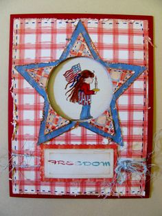 Door County Rubber Stamps   4th Of July Cards