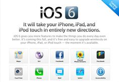 iOS 6 available to developers, ships in fall for iPhone 3GS, 2nd gen iPad orlater