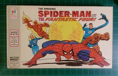 Spider-Man Board and Traditional Games Old Board Games, Vintage Board Games, Retro Toys, Vintage Toys, My Life Game, Childhood Memories, Childhood Toys, Classic Board Games, Man Games