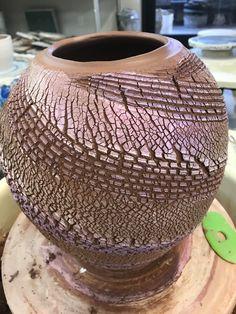 Mica & sodium silicate   In progress Doc Dave Streeter  Ceramics