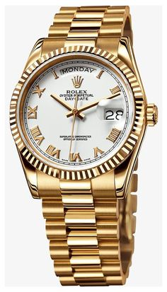 Amazing Watches, Cool Watches, Rolex Diamond Watch, Army Watches, Breitling Watches, Gold Rolex, Rolex Day Date, Hand Watch, Luxury Watches For Men