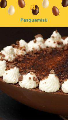 Cake Recipes, Dessert Recipes, Easter Recipes, No Bake Desserts, Biscotti, Food Videos, Italian Recipes, Oreo, Easter Eggs