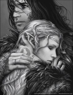 He was her hero. She, his goddess. He brought her strength. She brought him comfort. As night fell, she soothed his tired spirit and told him a bedtime story. He smiled and drifted into a delicious healing sleep.