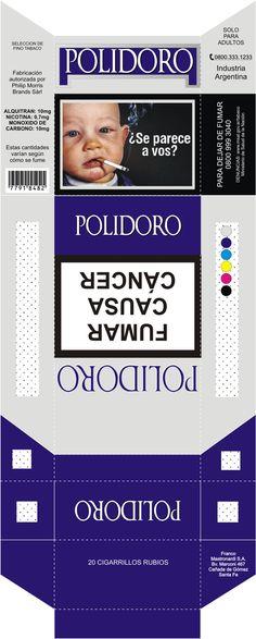 Caja de cigarrillos Polidoro