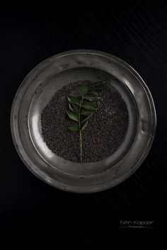 mustard seed and curry leaf