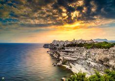 Sunset in Bonifacio by Vittorio Delli Ponti on 500px