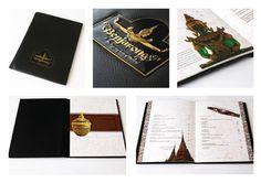 Benjarong - Menu Design Invitation Cards, Invitations, Menu Design, Cool Designs, Messages, Menu Layout, Save The Date Invitations, Text Conversations