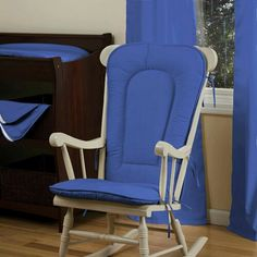Royal Blue Rocking Chair Pad