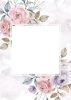 Framed Wallpaper, Flower Background Wallpaper, Flower Phone Wallpaper, Flower Backgrounds, Wallpaper Backgrounds, Iphone Wallpaper, Vintage Floral Backgrounds, To Do Planner, Instagram Frame Template