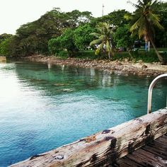 Pier in the South Guam