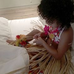 North West is now into hula dancing! See the toddler's adorable new costume