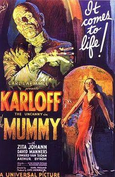 The Mummy movie poster http://1.bp.blogspot.com/_eHqxqHxnzhA/SsquWbZHiLI/AAAAAAAAAPA/xmwq5XY5mCI/s400/Mummy1932.jpg
