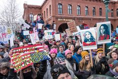 flagstaff.jpg Pictures From Women's Marches on Every Continent Crowds in hundreds of cities around the world gathered Saturday in conjunction with the Women's March on Washington. UPDATED JAN. 22, 2017