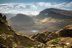 The Quiraing on a misty March day, Isle of Skye