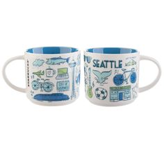 Seattle — A collectible mug from the Starbucks Been There Collection.