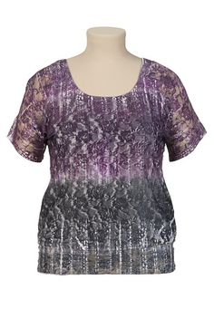 Ombre Lace Tee - maurices.com #Trixxi