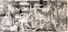 8th Grade collaboration of Picasso's Guernica
