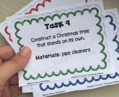 Writing challenges bundle pinterest student work students and christmas stem task cards fandeluxe Gallery