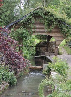 Lavoir à Chédigny, petit village d'Indre et Loire