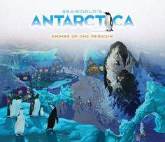 Concept Art for Antarctica: Empire of the Penguin coming 2013 to SeaWorld Orlando Florida Vacation Spots, Orlando Vacation, Florida Hotels, Orlando Tourism, Attractions In Orlando, Anniversary Getaways, Visit Orlando, Orlando Theme Parks, Attraction Tickets