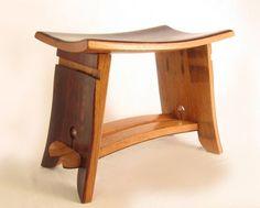 wine barrel stool