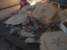 Handmade Vintage Starfish Gift Tags Party by RubysPlaceInTime, $4.50