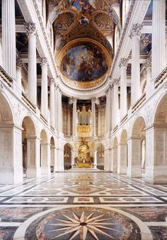 Robert Polidori, Chapel at the  Palace of Versailles @ Camera Work - Eloge de l'Art par Alain Truong
