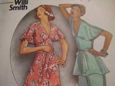 1970's Butterick 4094 Willi Smith :)