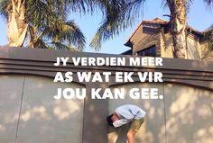 """Gedigte (@gewrigte) on Instagram: """"✨💛✨💛✨💛✨ #LekkerAfrikaans#TrotsAfrikaans#SuidAfrika#GeloofIsAltydEerste"""" Afrikaans quotes"""