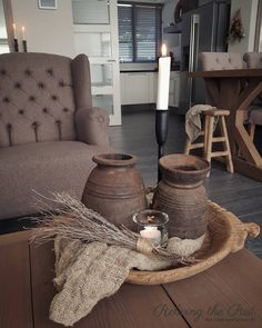 Interior Decorating, Interior Design, Dinning Table, Tray Decor, Wooden Bowls, Wabi Sabi, Living Room Decor, Sweet Home, Sober