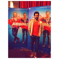 12 days for #judwaa2. Feeling red can't wait