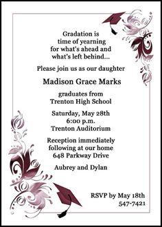 High School Graduation Announcements Invitations on ...