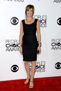 Actress Allison Janney attends The 40th Annual People's Choice Awards at Nokia Theatre L.A. Live on January 8, 2014 in Los Angeles, California.