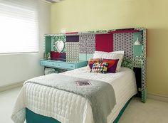 cabeceiras que podem transformar o quarto da adolescente