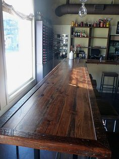 The Grocery Bar In Charleston SC By Landrum Tables