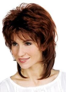 Synthetic Long Wig by Trend European. We are pleased to present the new Trend European line. Unique and exquisite items created in Europe. Fantastic colors & unique styles i Haircuts For Medium Hair, Short Shag Hairstyles, Medium Hair Cuts, Long Hair Cuts, Medium Hair Styles, Curly Hair Styles, Pretty Hairstyles, Shaggy Short Hair, Long Curly Hair