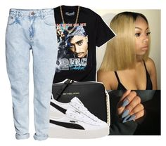 """"""""""" by eazybreezy305 ❤ liked on Polyvore featuring Urban Outfitters, MICHAEL Michael Kors, Puma, H&M, Gogo Philip, simpleoutfit, Trendy and 2017"""