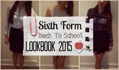 Sixth Form Lookbook 2015 + GIVEAWAY WINNER | Asia Jade