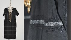 ace&jig fall13 gallery dress in black hole at Les Pommettes