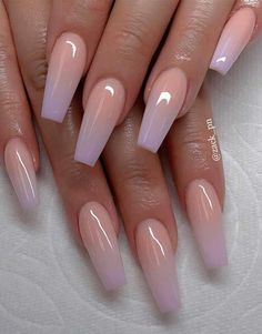 These fabulous nail art designs are super unique and glamorous, these will give you the trendy looks and give your nails a whole new... #AcrylicNailsDesigns Best Acrylic Nails, Acrylic Nail Designs, Nail Designs With Glitter, Baby Pink Nails Acrylic, Soft Pink Nails, Classy Acrylic Nails, Pink Soft, Acrylic Nail Art, Clear Acrylic