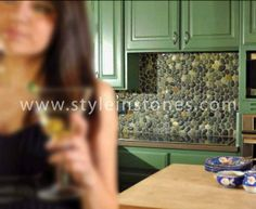 Pebble Tiles, Stone Tiles, Surface Finish, Butcher Block Cutting Board, Natural Stones, It Is Finished, Colour, Detail, Box