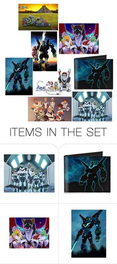 """Collage of Voltron"" by shadowfire-tfp ❤ liked on Polyvore featuring art"