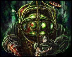 Epic BioShock Drawing