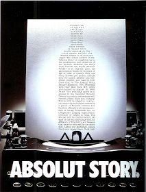 >>> The ABSOLUT Vodka Advertising Story