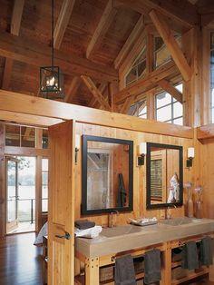 Modern Edge: A Minnesota Timber Frame Home - Timber Home Living