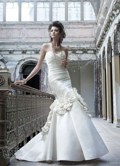 Lazaro Wedding Dresses Fall 2011 | Wedding Inspirasi