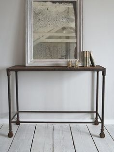 Industrial Console Table http://www.nordichouse.co.uk/industrial-console-table-p-1103.html