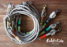 Rudel Liebe Hundeleine aus Tauwerk www.rudelliebe.de #hundekette #hund #halsband #dog #hippie #hundehalsband #hundeleine #hunde #dogs #rudelliebe #boho