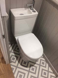 Tiny Under Stairs Cloakroom Bathroom In 2019 Bathroom Tiny Under Stairs Cloakroom Bathroom In 2019 Bathroom Farmhouse Sink Bathroom Vanity, Cloakroom Toilet Downstairs Loo, Toilet For Small Bathroom, Bathroom Under Stairs, Small Space Bathroom, Bathroom Floor Plans, Tiny Bathrooms, Tiny House Bathroom, Bathroom Design Small